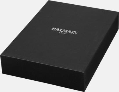 Gåvoset från Balmain med reklamtryck