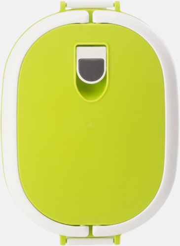 Mikrovågssäker lunchlådor med reklamtryck