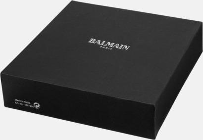 Anteckningsset från Balmain med reklamtryck