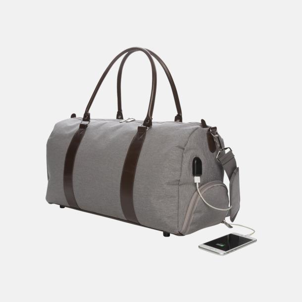 Resväskor med USB-port - med reklamtryck