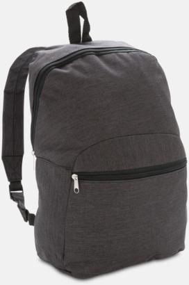 Anthracite Tvåtonade ryggsäckar med reklamtryck