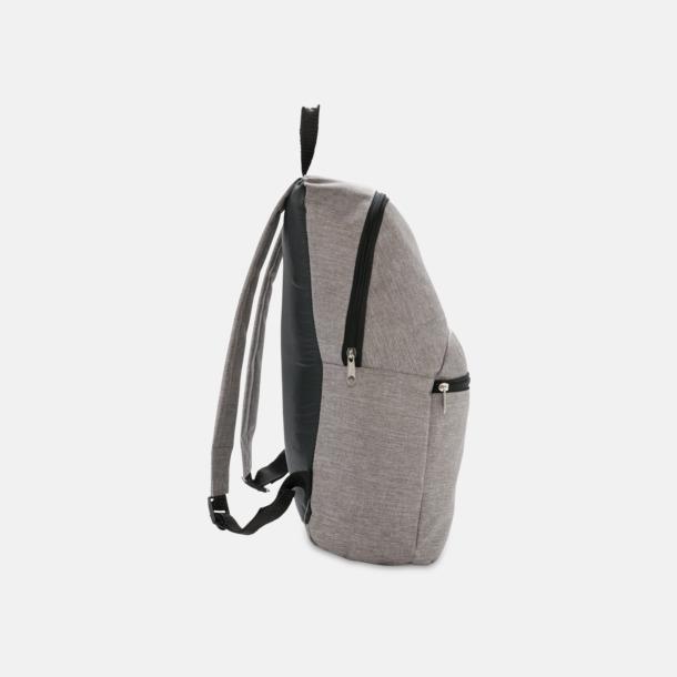 Tvåtonade ryggsäckar med reklamtryck