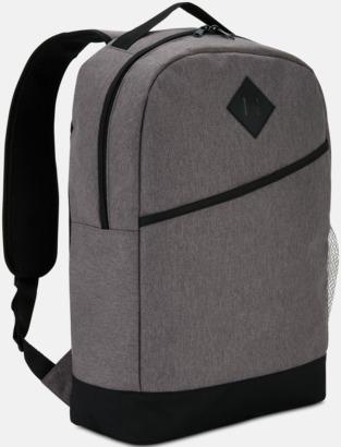 Grå Moderna ryggsäckar till bra priser med reklamtryck