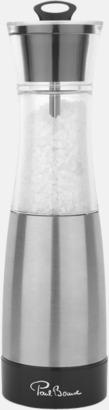 Exklusiva salt- & pepparset med reklamtryck