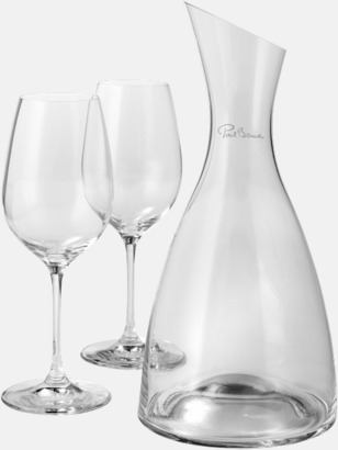 Vinkaraffset med reklamtryck