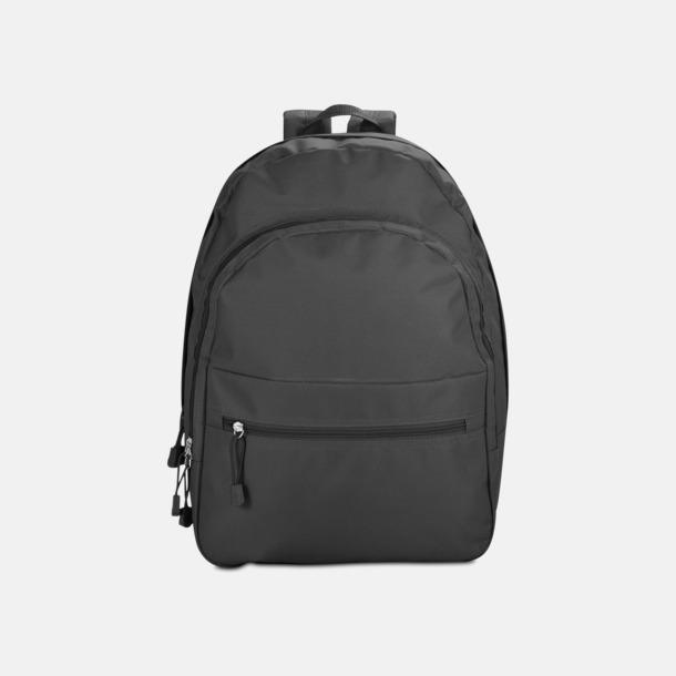 Svart Bas-ryggsäckar med reklamtryck