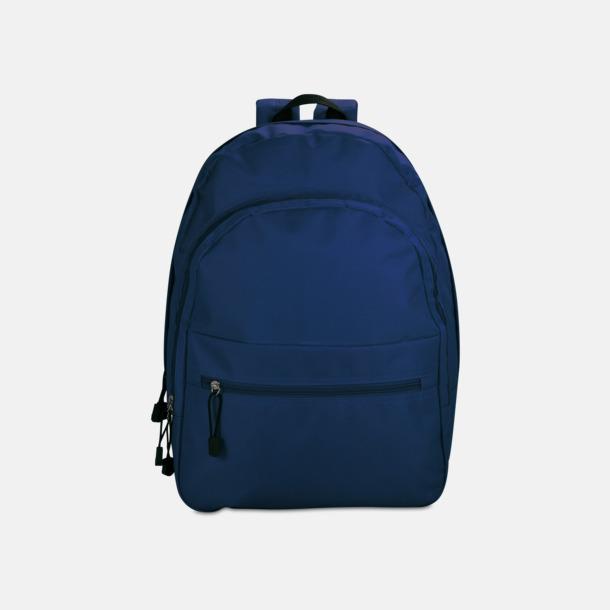Blå Bas-ryggsäckar med reklamtryck