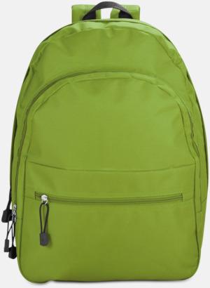 Grön Bas-ryggsäckar med reklamtryck
