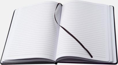Konstläder anteckningsböcker i A5 med reklamtryck