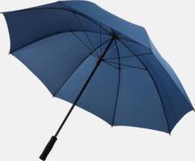 "30"" stormparaplyer med reklamtryck"