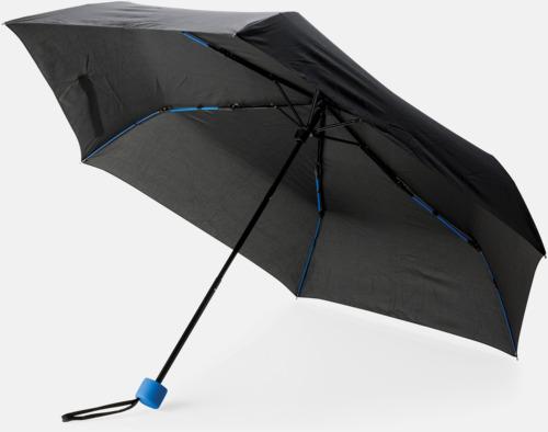"""Royal 21"""" stormparaplyer med färgdetaljer - med reklamtryck"""