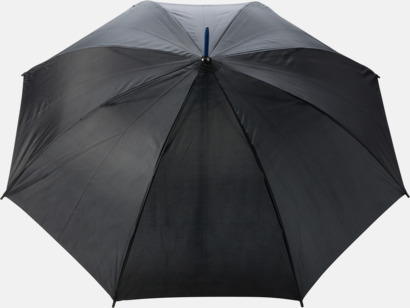 """Royal 23"""" stormparaplyer med färgdetaljer - med reklamtryck"""