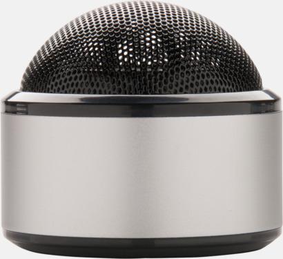 Silver Kulpolformade BT-högtalare med reklamtryck