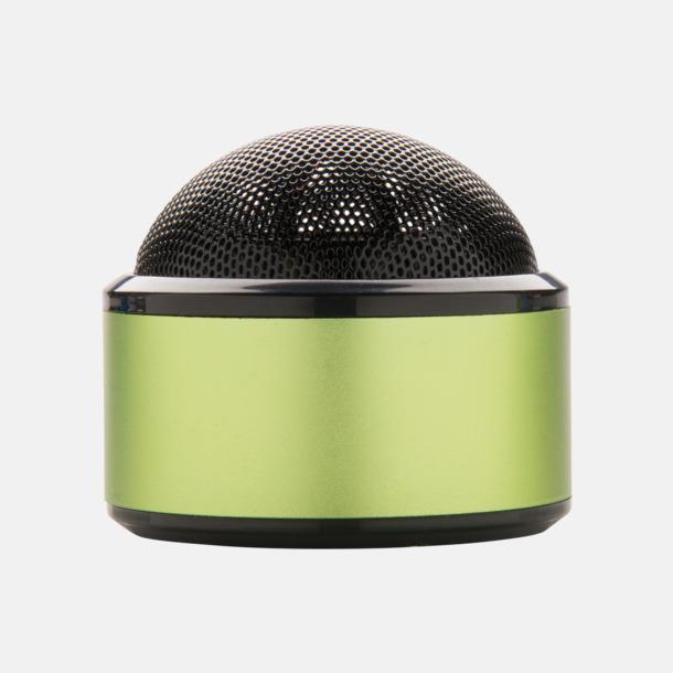Limegrön Kulpolformade BT-högtalare med reklamtryck