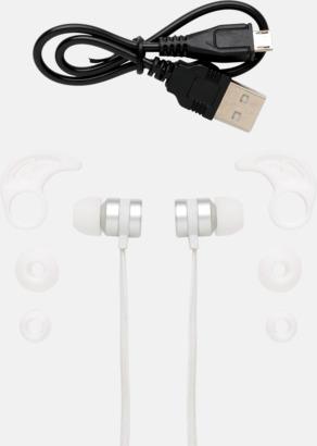 In-ear hörlurar med magneter - med reklamtryck