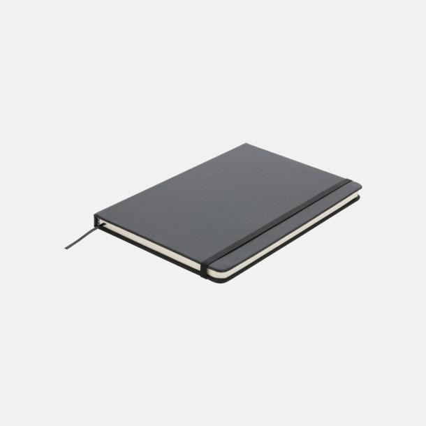A5 anteckningsböcker i konstläder med reklamtryck