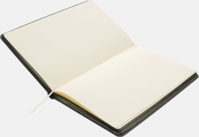 Färgade tyg anteckningsböcker med reklamtryck