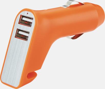 Orange Laddare, skärare & hammare med reklamtryck