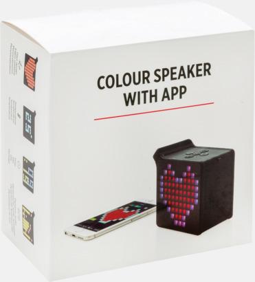 Presentförpackning Högtalare med app - med reklamtryck