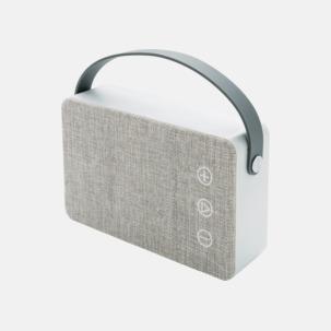 Tygklädda, trådlösa högtalare med reklamtryck