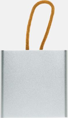 Vit (topp) Kubformade högtalare med reklamtryck