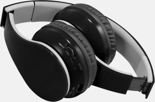 Over ear-stereohörlurar med reklamtryck