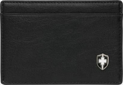 Framsida RFID-antiskimming korthållare från Swiss Peak med reklamtryck