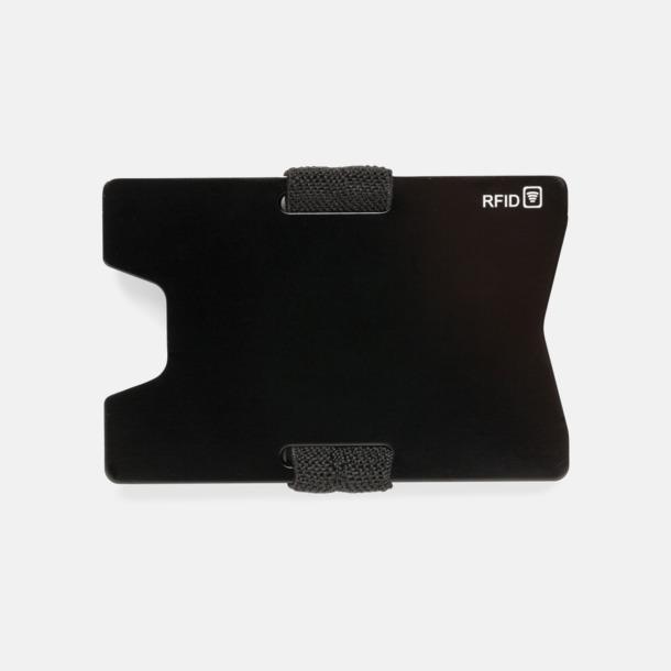 Framsida Korthållare i aluminium med RFID-skydd med reklamtryck