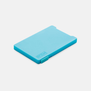 Korthållare för 3-4 kort med RFID-skydd med reklamtryck