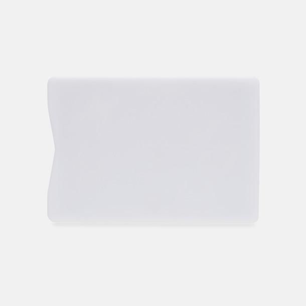 Baksida Korthållare i plast med RFID-skydd med reklamtryck
