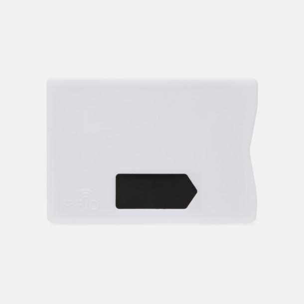 Framsida Korthållare i plast med RFID-skydd med reklamtryck