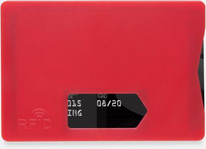 Korthållare i plast med RFID-skydd med reklamtryck