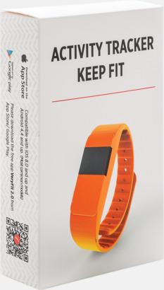 Presentförpackning Färgglada aktivitetsarmband med reklamtryck