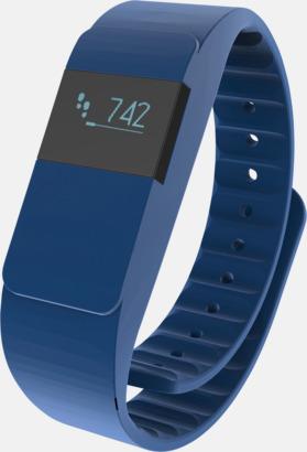 Blå Färgglada aktivitetsarmband med reklamtryck