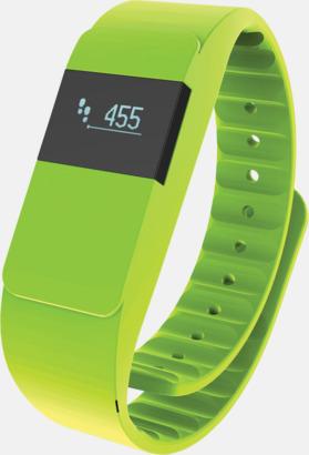 Grön Färgglada aktivitetsarmband med reklamtryck
