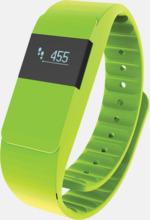 Färgglada aktivitetsarmband med reklamtryck