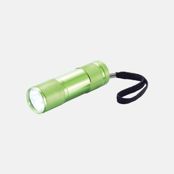 Gröm Ficklampor i många färger med reklamtryck