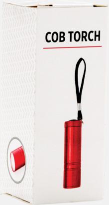 Presentförpackning Små COB-ficklampor med reklamtryck