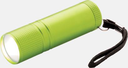 Grön Små COB-ficklampor med reklamtryck