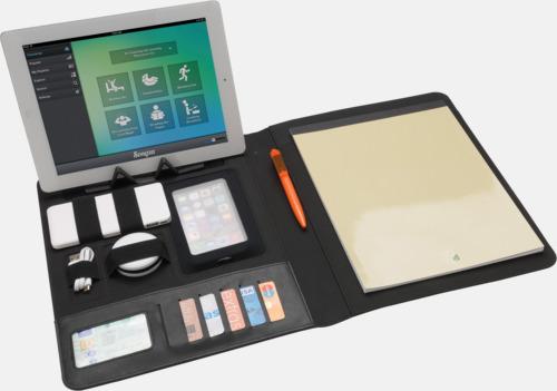 Konferensmappar med plats för smartphone - med reklamtryck