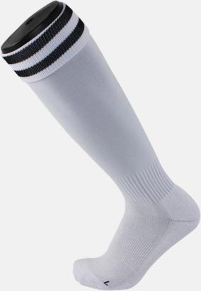 Vit / Svart Fotbollsstrumpor
