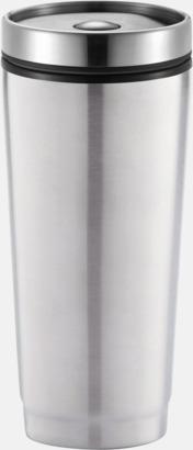 Silver Täta termosmuggar med reklamtryck