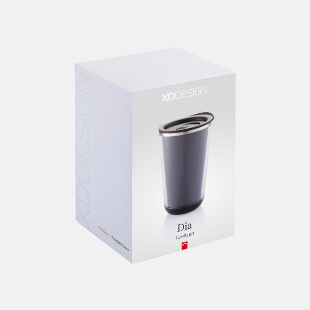 Presentförpackning Återvinningsbara termosmuggar med reklamtryck
