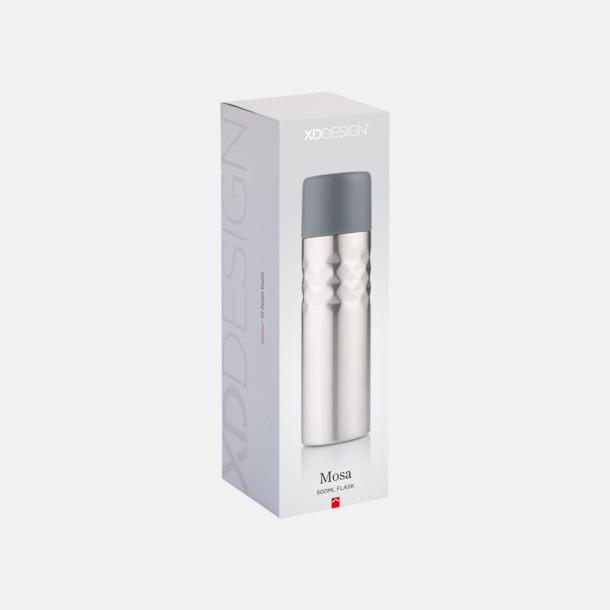 Presentförpackning 0,5 l termosflaskor med reklamtryck