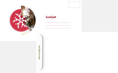 Kuvert Hälsosamt gåvokort stödjer en frisk generantion