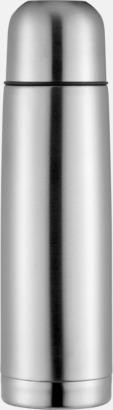 Silver Klassiska termosar med autokork - med reklamtryck