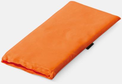 Orange Kudde för pakethållaren med reklamtryck