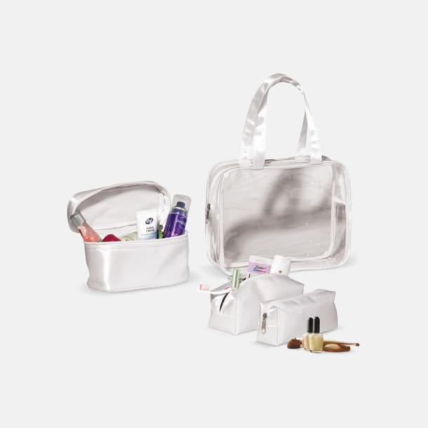 3 necessärer med väska