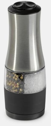 Elektrisk peppar- & saltkvarn i 1 med reklamtryck