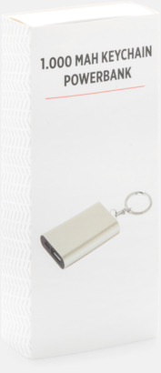 Presentförpackning Nöd-powerbanks med reklamtryck